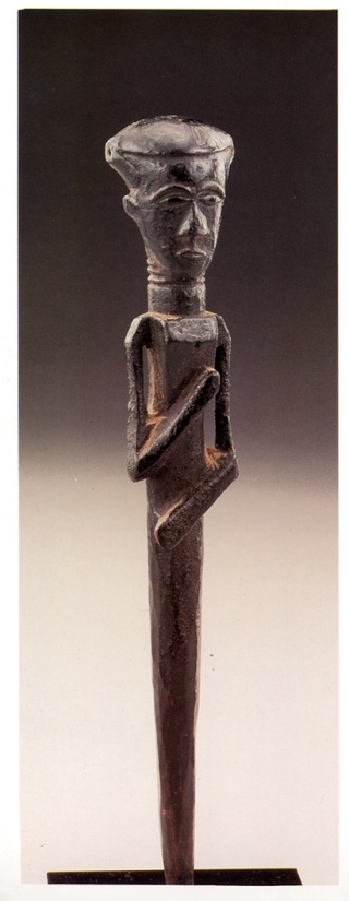 Kuba/N'dengese people, Diviner's Scepter (Féticheur), West Kasai, Congo J_corn12