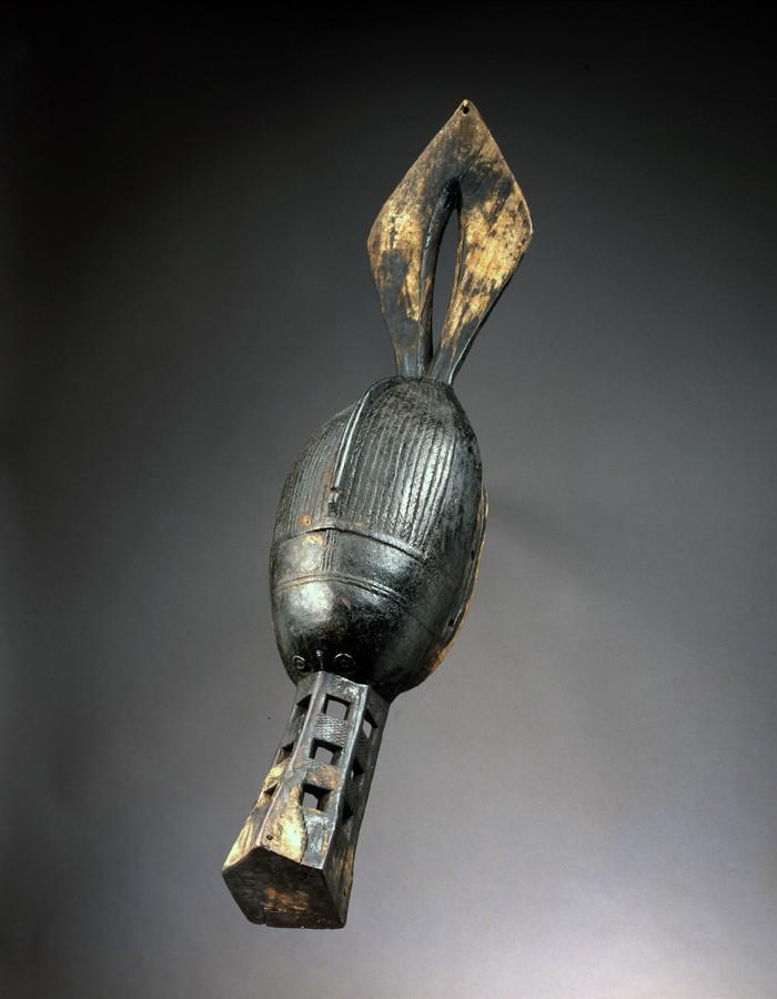Landuman people, Thönköngba or Numbe mask, Guinea Landum11