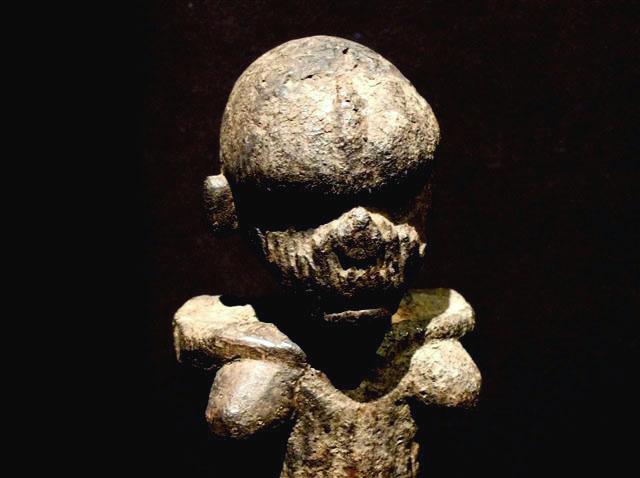 Kabyé people, Difale area, Arcaic Female Figure, North Togo Nig11