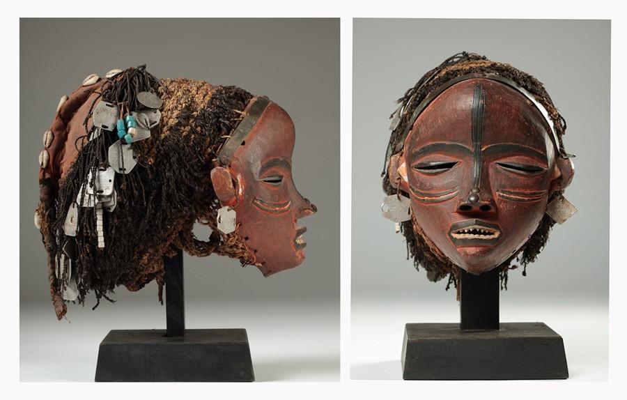 Pende people, Mbuya mask  Kwago Area, Congo Pende010