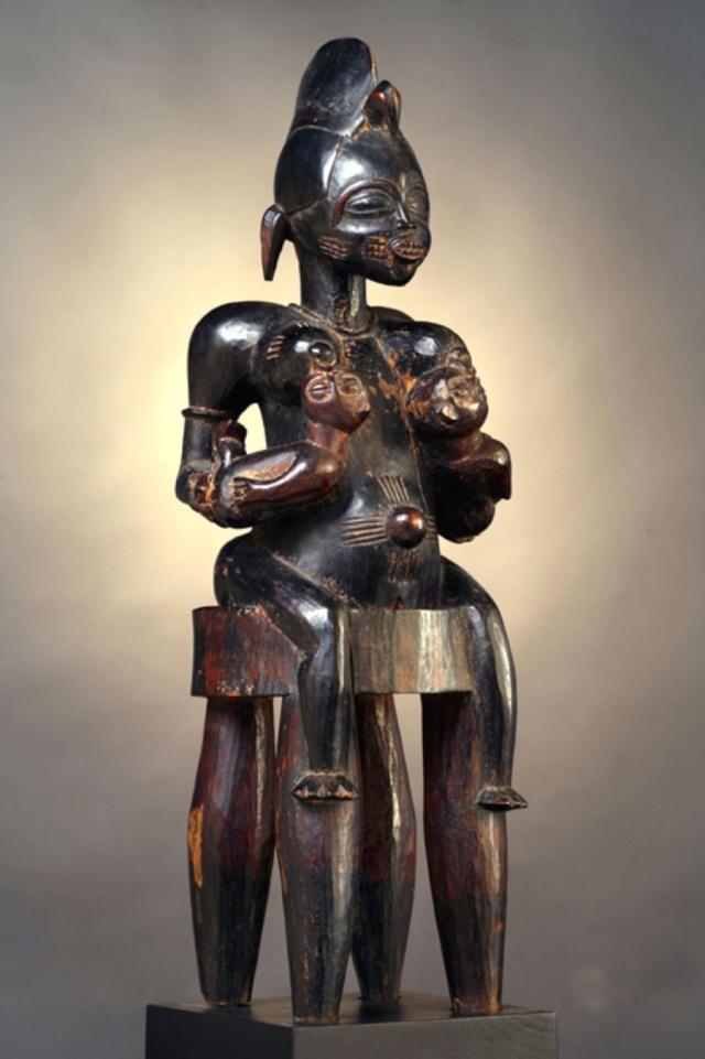 Senufo people, Maternity Poro Society Figure (Nong), Korhogo Area, Ivory Coast Senufo16