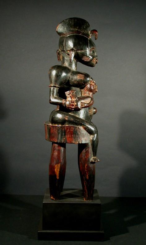 Senufo people, Maternity Poro Society Figure (Nong), Korhogo Area, Ivory Coast Senufo17