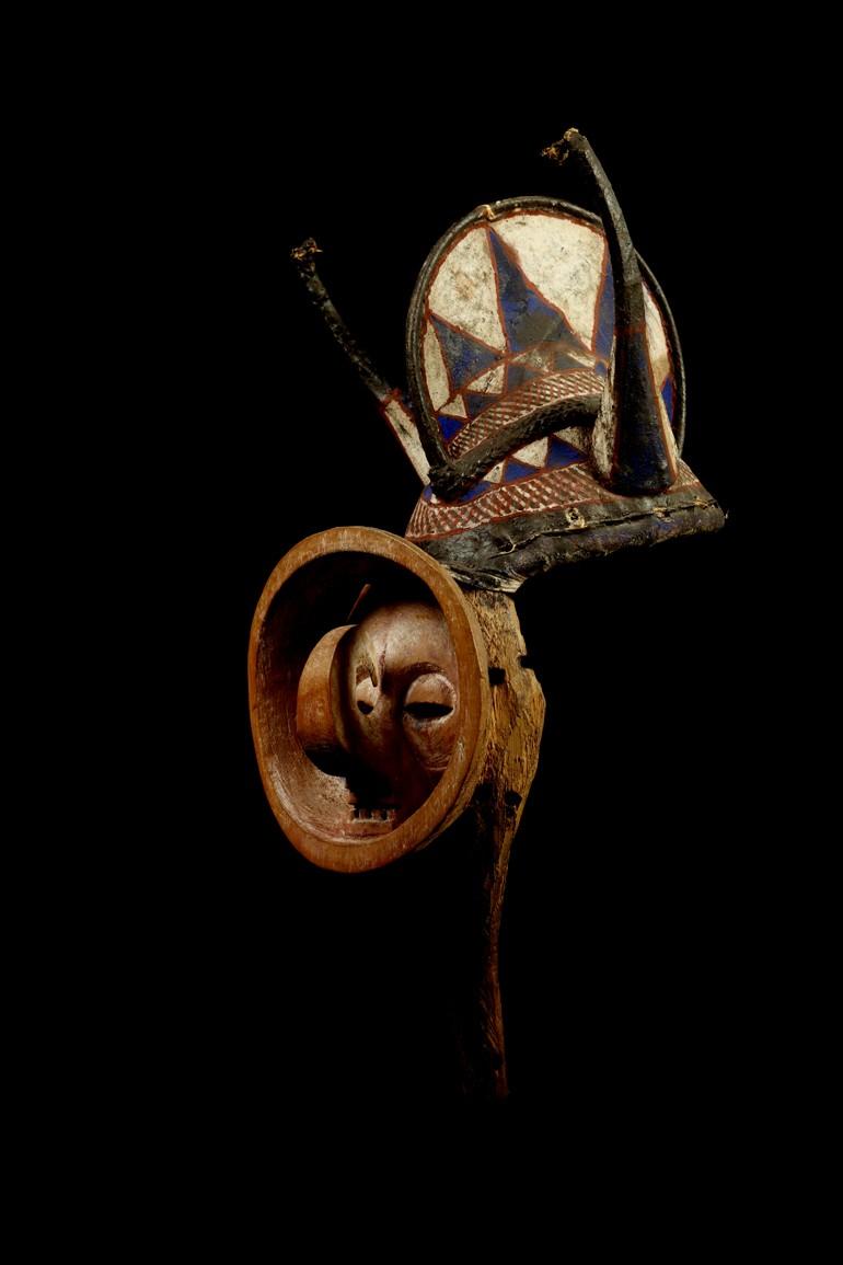 Yaka people, Kholuka mask, Democratic Republic of Congo Yaka_011