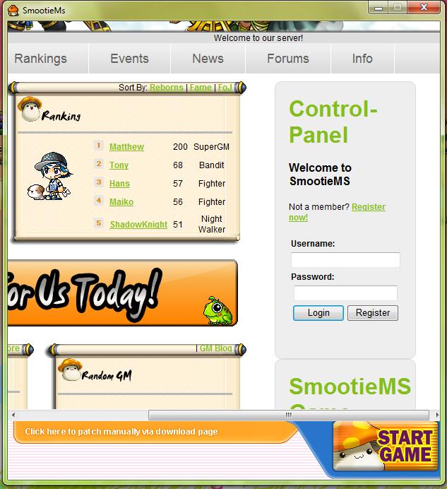 SmootieMs Launcher: Working Inprocress L110