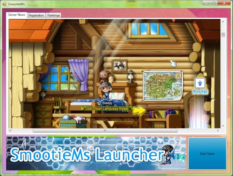 SmootieMs Launcher: Working Inprocress Launch10