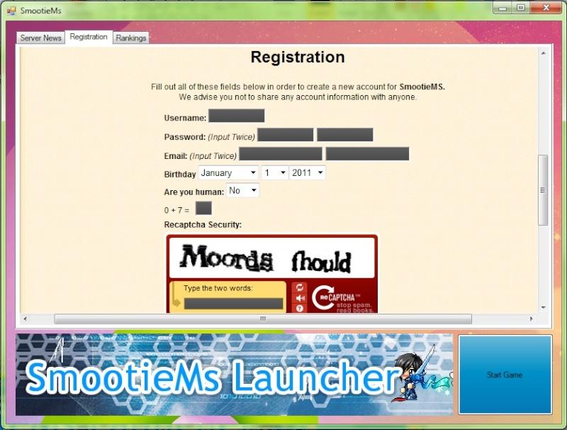 SmootieMs Launcher: Working Inprocress Launch11