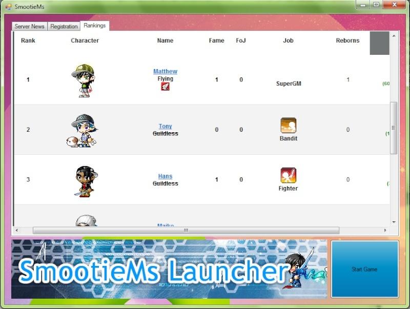 SmootieMs Launcher: Working Inprocress Launch12