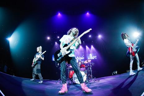 SCANDAL JAPAN TITLE MATCH LIVE 2012 「SCANDAL vs BUDOKAN」 Scanda12