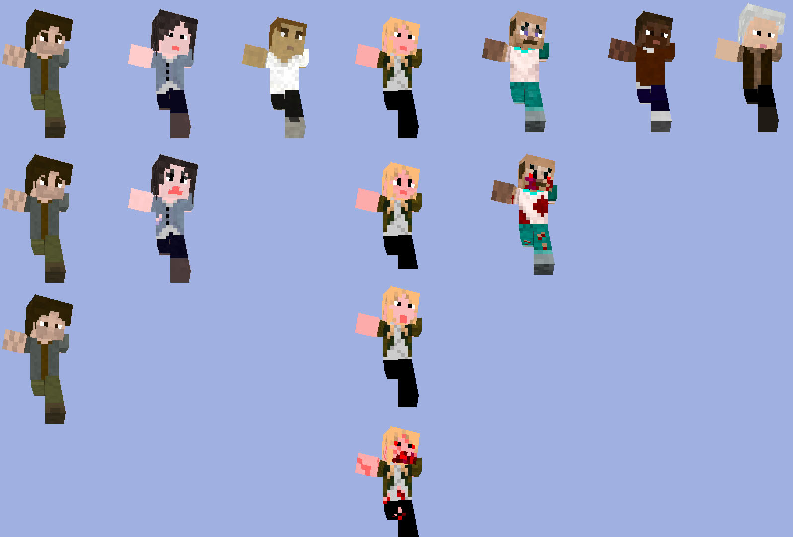 All the skins so far Skins_12