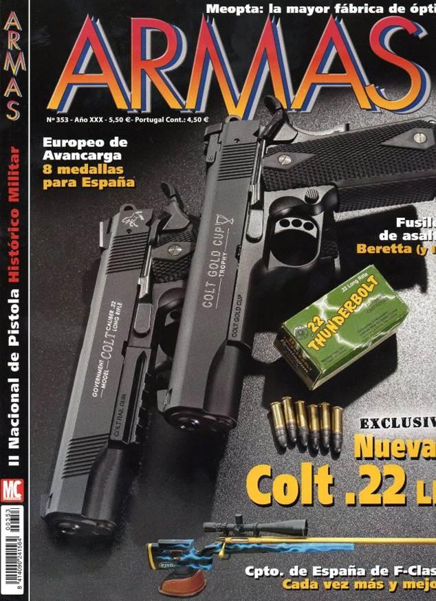 Reportaje revistas armas sobre II Campeonato Nacional Pistola Histórico Militar Image010