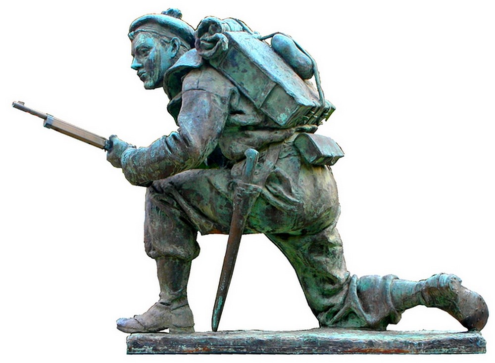 Le monument aux fusiliers & commandos à Lorient... 11-jea10