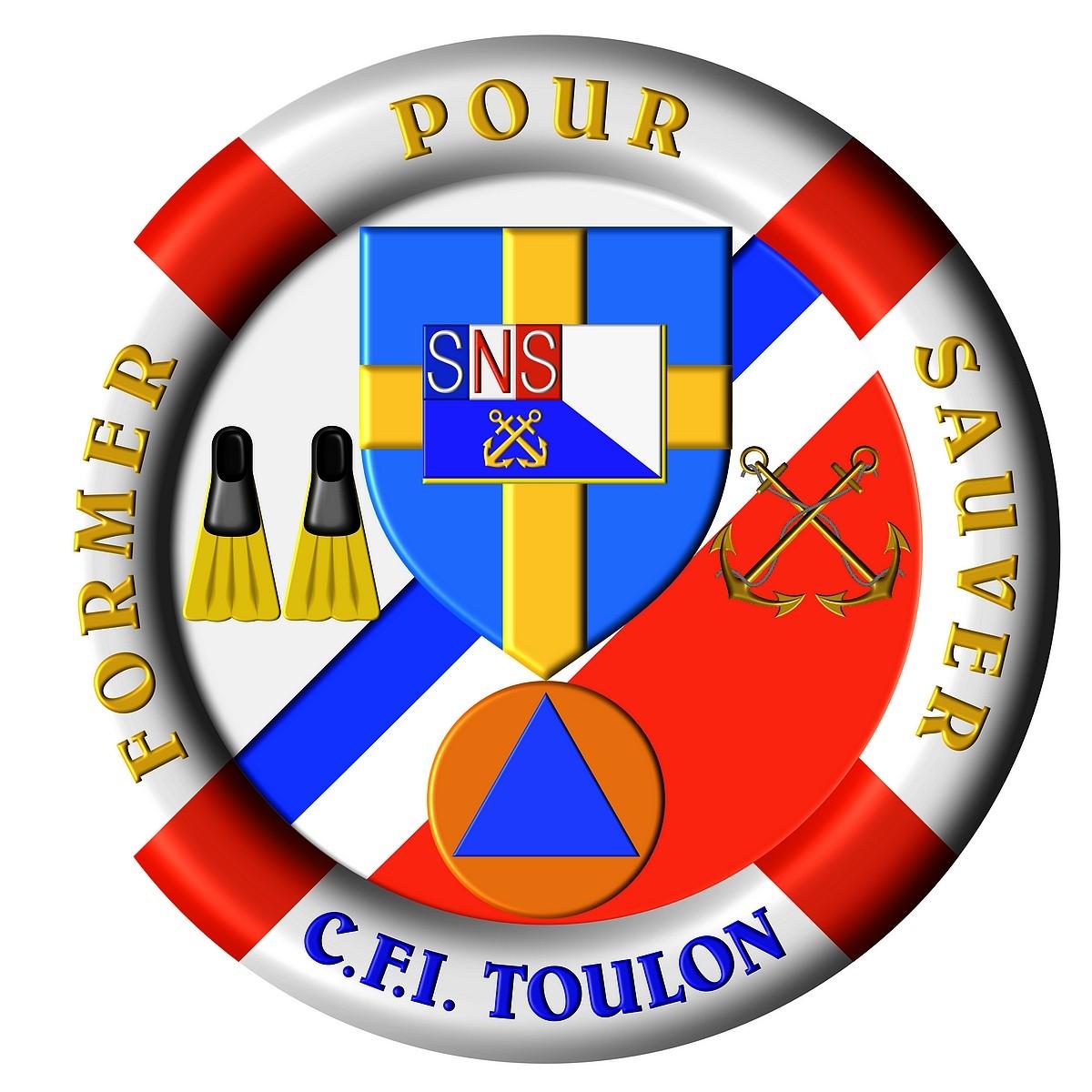 [ La S.N.S.M. ] SNSM TOULON CFI Logo_c10