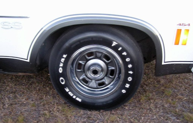 """""""SS"""" Rims for 73 Chevelle 1973ss10"""