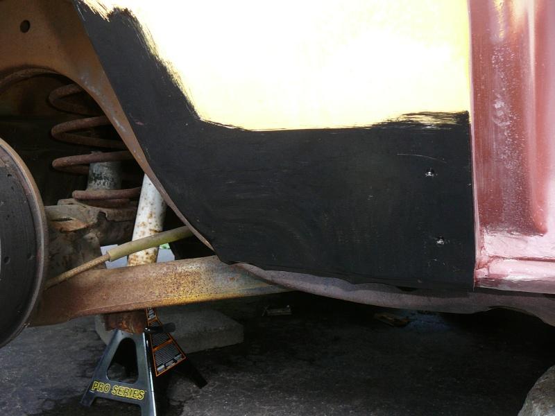 1977 Chevelle Malibu Classic Progress Photo's aka Mali P1000917