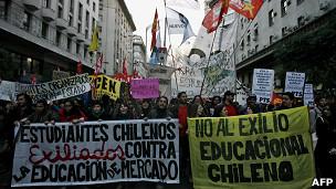 El ABC de las demandas estudiantiles en Chile 11080910