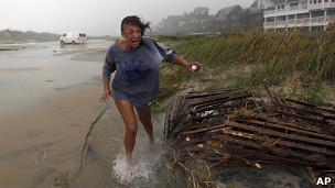 Irene se adentra en la costa este de EE.UU. 11082711