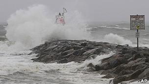 Irene se adentra en la costa este de EE.UU. 11082712