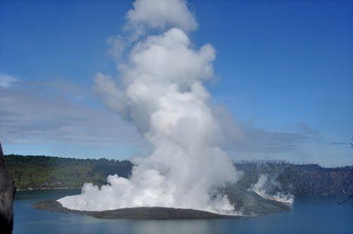 Vanuatu (hermoso) Por favor, Manaro nivel de alerta en el volcán 1 37643010