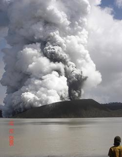 Vanuatu (hermoso) Por favor, Manaro nivel de alerta en el volcán 1 Ambae10