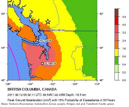 Área metropolitana de Vancouver recibe una llamada de atención para la preparación del terremoto Canada10