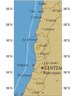 Sismo 4,8 Richter se percibe esta mañana en la zona central F9070410