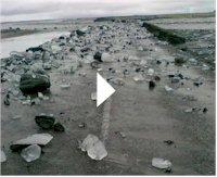 Katla volcán de Islandia : evacuación ha sido cancelada + video del puente destruido Katla-11