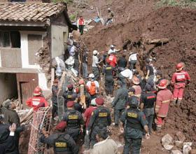 Terremoto muy fuerte sacude Perú, cerca de la frontera con Brasil Landsl10
