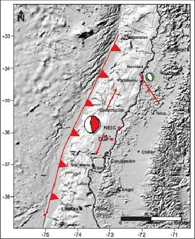 Fallas Geológicas y Volcanes en la Cuenca de Santiago Mapafa10