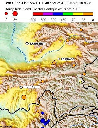 Comprensión de la mortal Uzbekistán / Kirguistán terremoto(De julio 19, 2011) Uzbek-13