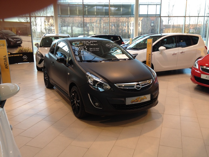2011 opel corsa restyl e opc n rburgring edition. Black Bedroom Furniture Sets. Home Design Ideas