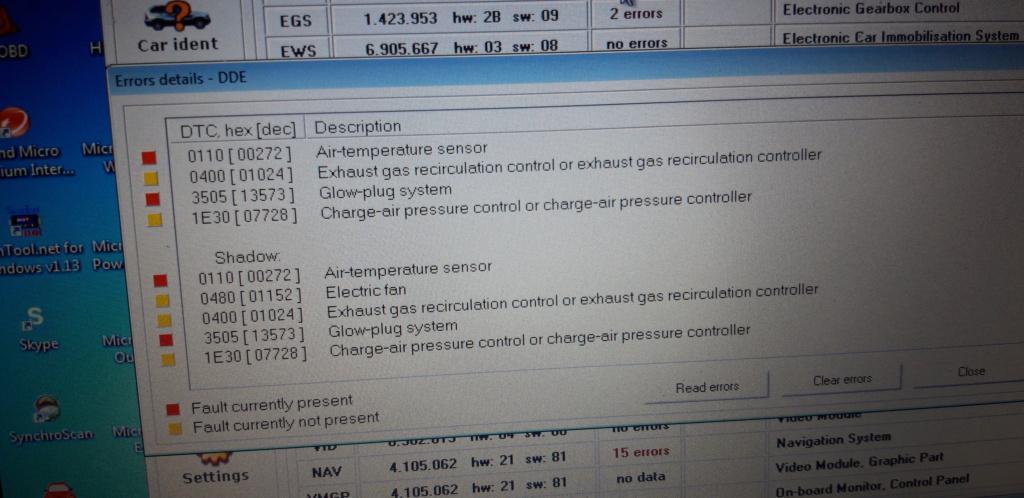 Defaut capteur température d'air sur 730D 2021-020