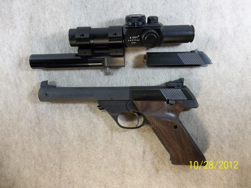 need hi-standard adjustable sights Hs_810