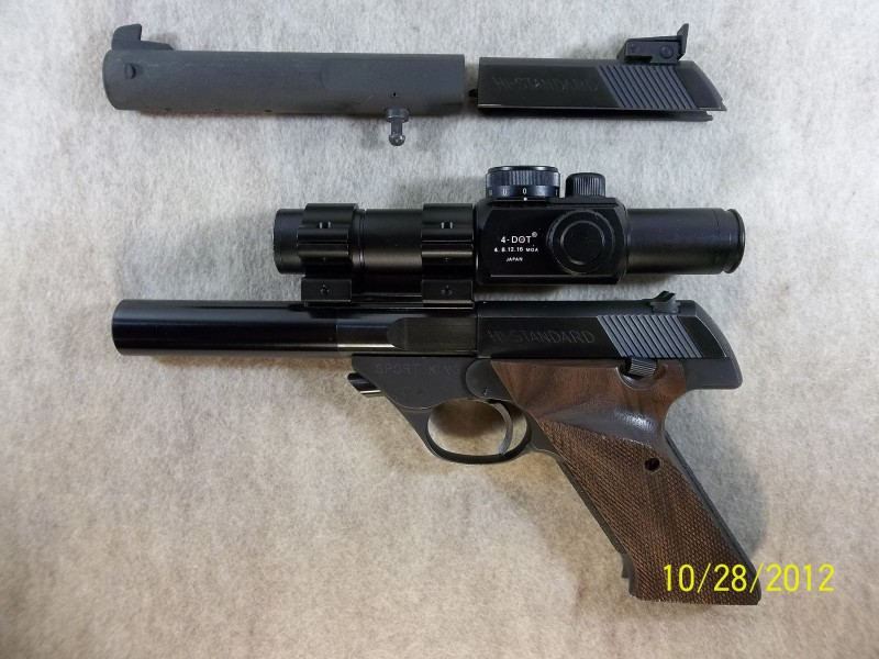Im new to bullseye, I could use some help selecting a 22 pistol platform to invest in.  Hs_911
