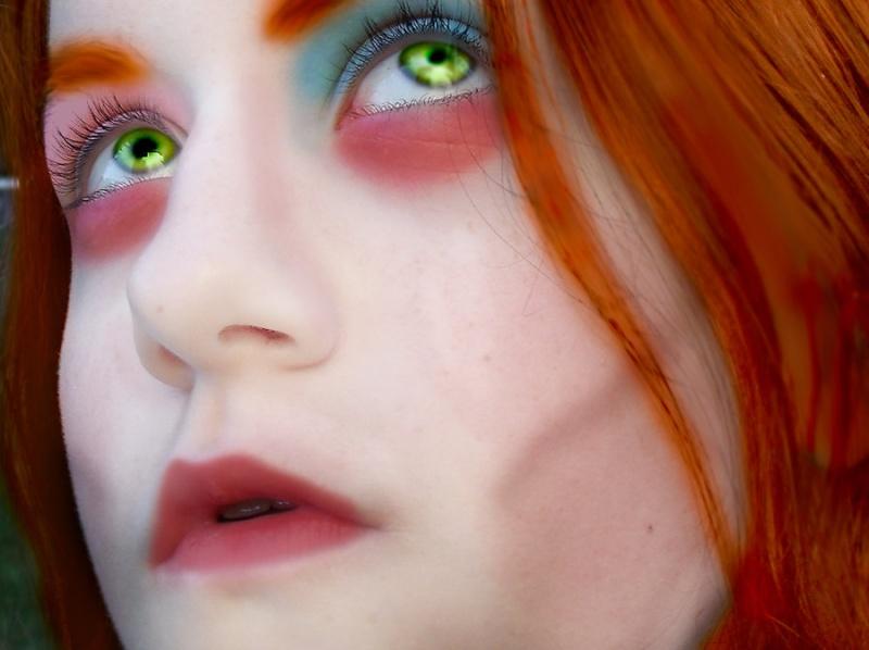 Cosplays Alice in Wonderland. 1113