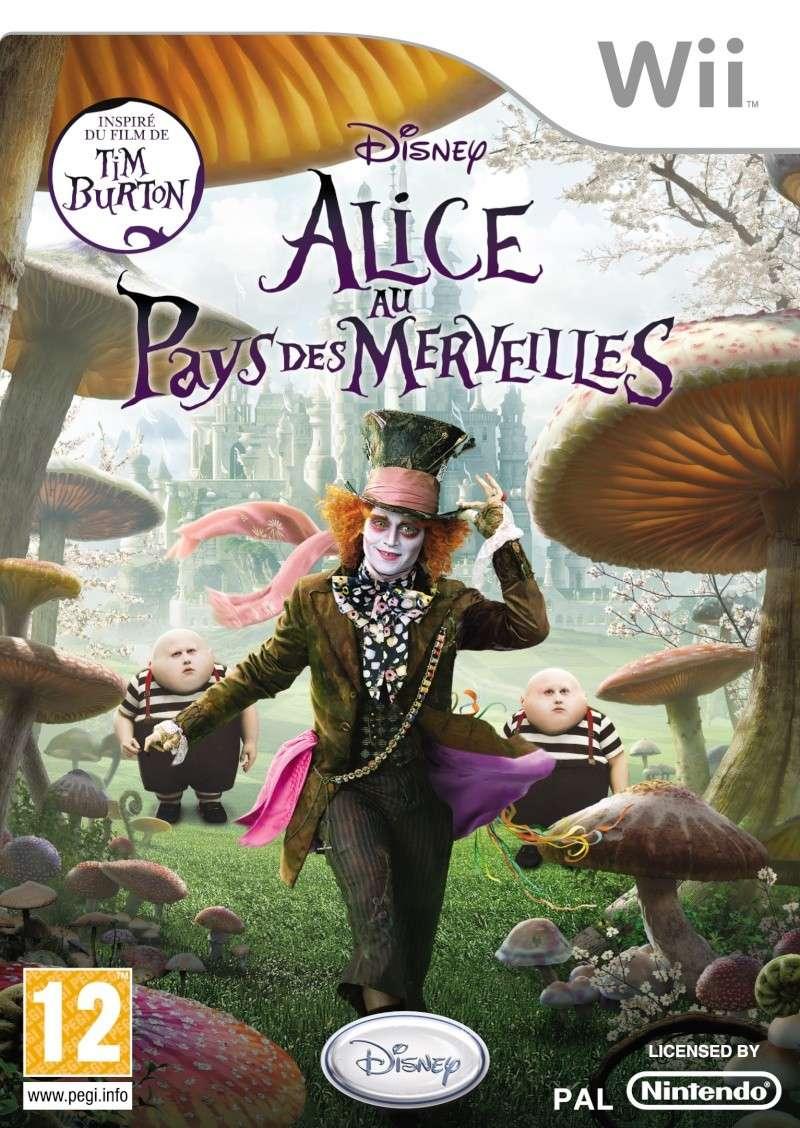 Alice au pays des merveilles, le jeu Wii 214