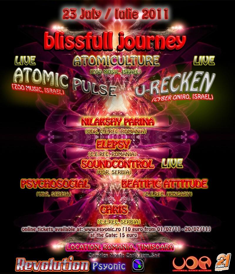 BLISSFULL  JOURNEY-ROMANIA-U-RECKEN/ATOMIC PULSE/ATOMICULTUR Blissf11