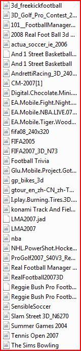 samsung futbol ve spor oyunları Ekran_41