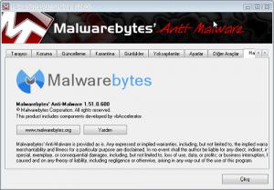 Malwarebytes' Anti-Malware 1.51    Malwar10