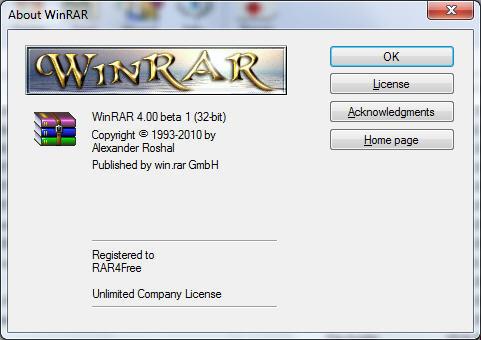 win rar arşivleme ve sıkıştırma programı Winrar10