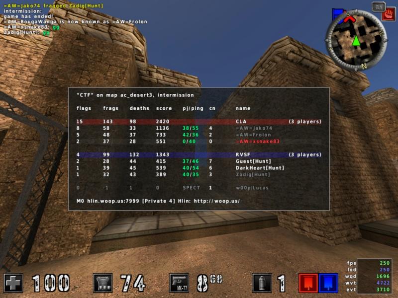 =AW= vs [Hunt] [2:0] 20120410
