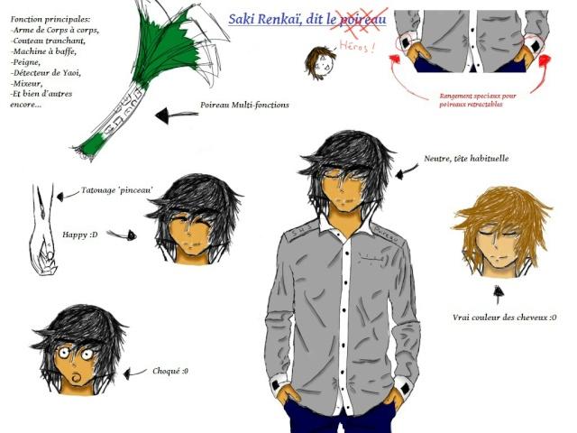 Chara-design SHS -> Saki Chara-10