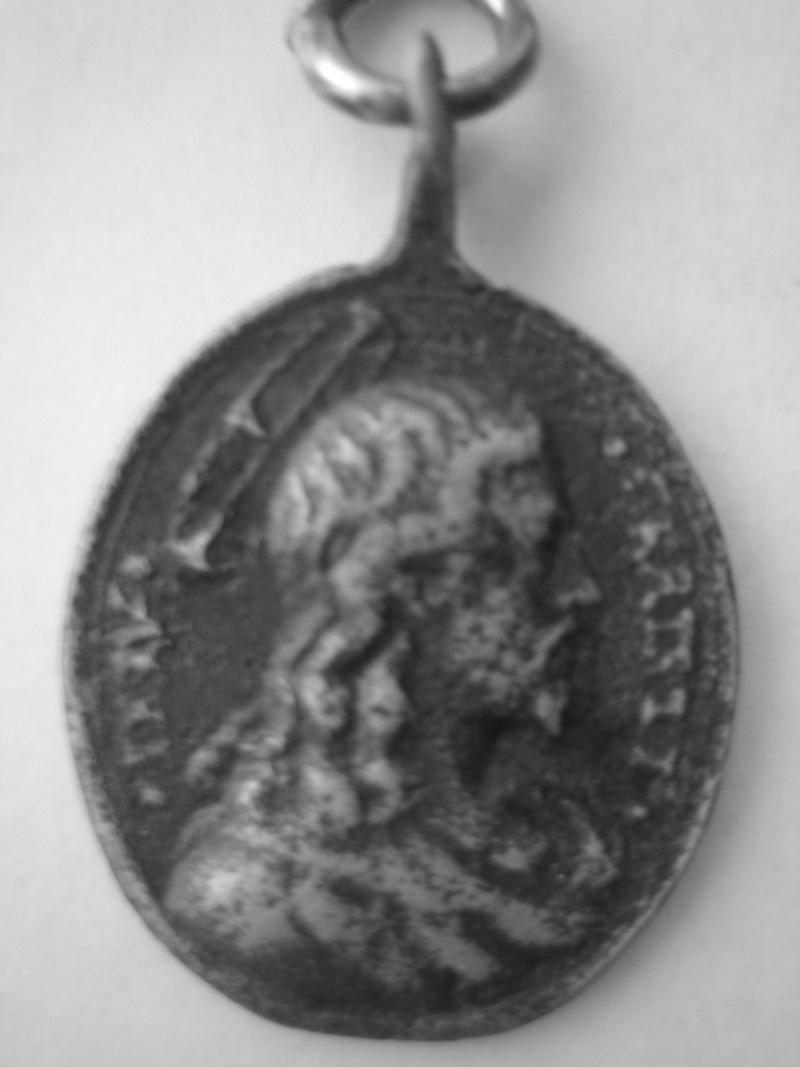 "Médaille Jésus & Marie - ""Mater Salvatoris"" et ""Salvator Mvndi"" (3) Img_6220"