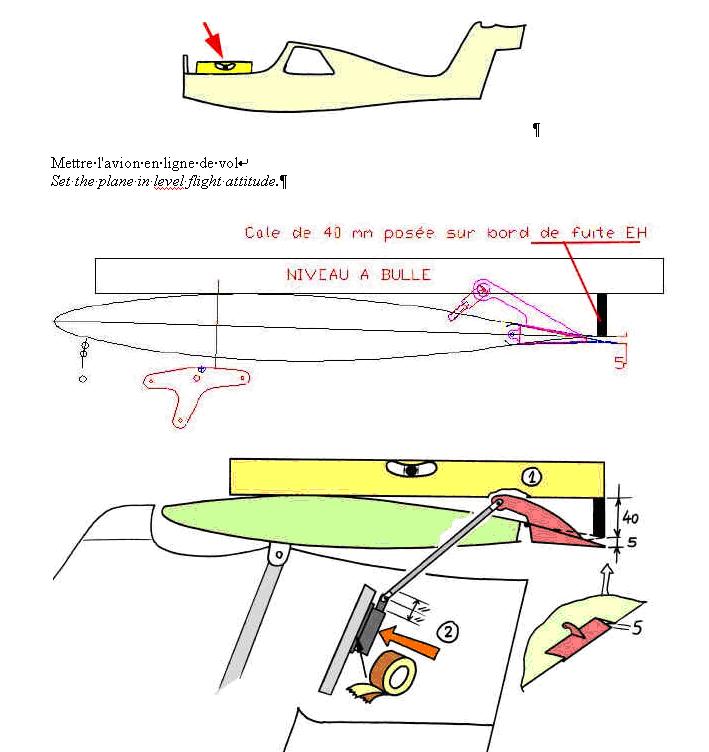 Réglage du tab de profondeur sur MCR 01 ULM Raglag10