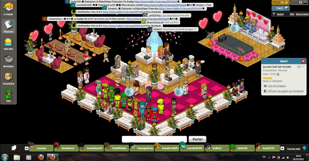 [ Karim150 - .:SuperZeus:. ] Manifestation au salon du coup de foudre C10