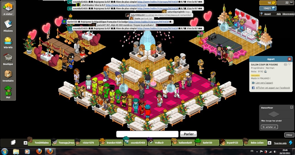 [ Karim150 - .:SuperZeus:. ] Manifestation au salon du coup de foudre D10