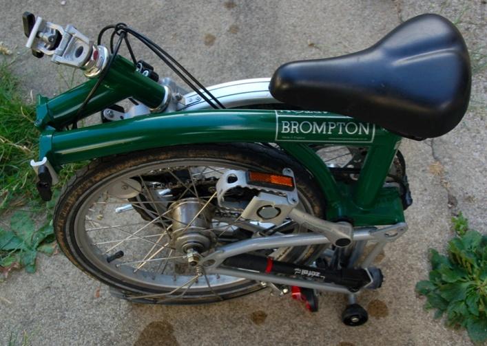 [VENDU] Brompton M3L vert à vendre 710 euros négociable M3l_410
