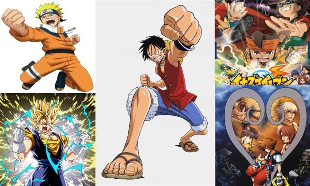 Anime por los codos