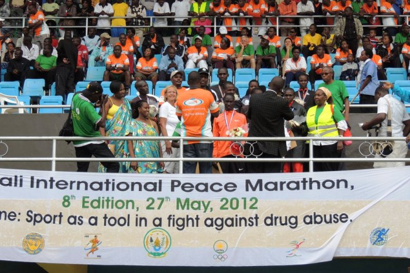La 8è édition du Marathon International de la Paix [8th International Peace Marathon]—Kigali, Rwanda (27/05/2012) Kigali16