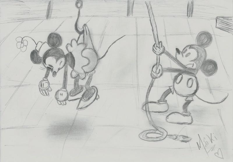 [Règle n°0] concours de production artistique: Saison3 Trophée des champions (votes)+ thème dessin Disney libre (reprise du concours le 29 aout) Mickey11