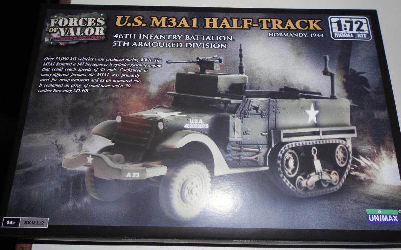 M3A1 Half-Track [Unimax 1/72] par Nicolasdu09 et M16 anti-aérien [Revell 1/76] par Panzer ==> Les faux jumeaux. Boite10